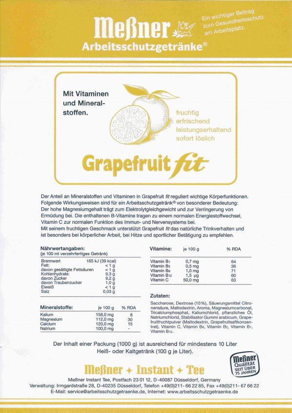Grapefruit fit scaled