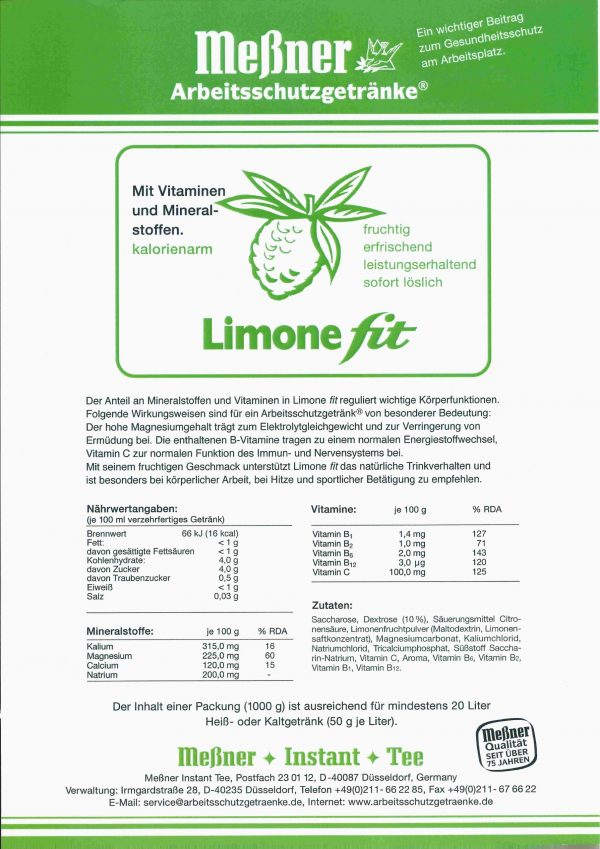 Limone fit scaled