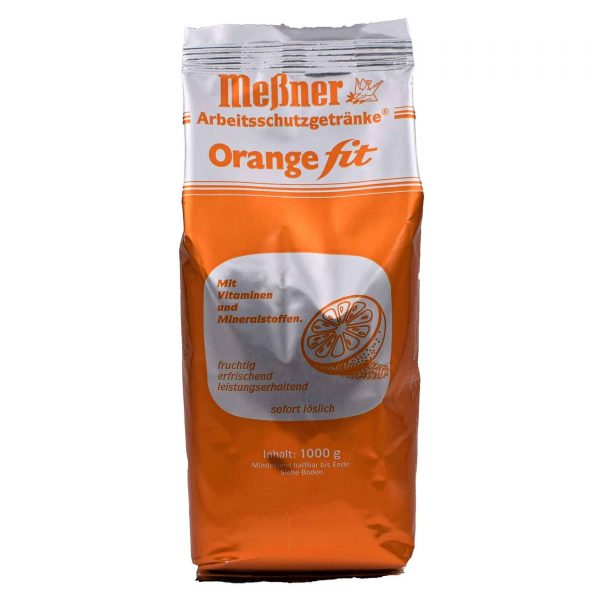 Orange fit Instant Tee